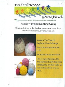Rainbow Project Knitting Group